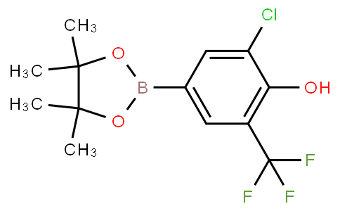 5-Chloro-4-hydroxy-3-(trifluoromethyl)phenylboronic acid pinacol ester
