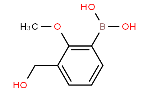 3-(Hydroxymethyl)-2-methoxyphenylboronic acid