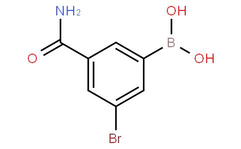 3-Aminocarbonyl-5-bromophenylboronic acid