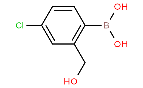 (4-Chloro-2-(hydroxymethyl)phenyl)boronic acid