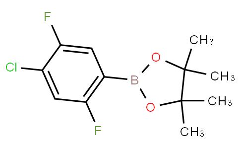 4-Chloro-2,5-difluorophenylboronic acid pinacol ester