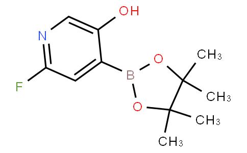 2-Fluoro-5-hydroxypyridine-4-boronic acid pinacol ester