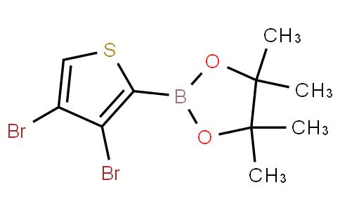 3,4-Dibromothiophene-2-boronic acid pinacol ester