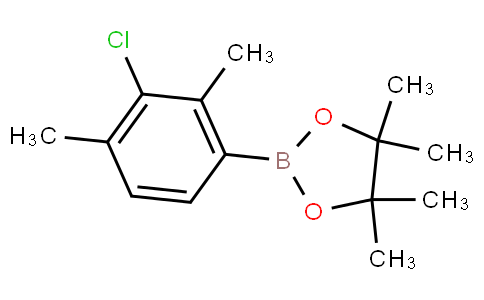 3-Chloro-2,4-dimethylphenylboronic acid pinacol ester