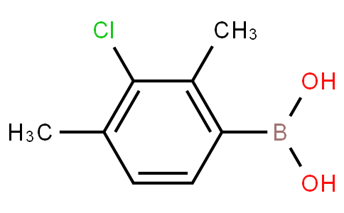 3-Chloro-2,4-dimethylphenylboronic acid