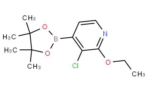 3-Chloro2-ethoxypyridine-4-boronic acid pinacol ester