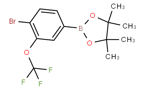 4-Bromo-3-(trifluoromethoxy)phenylboronic acid pinacol ester
