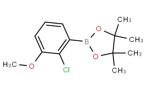 2-Chloro-3-methoxyphenylboronic acid pinacol ester