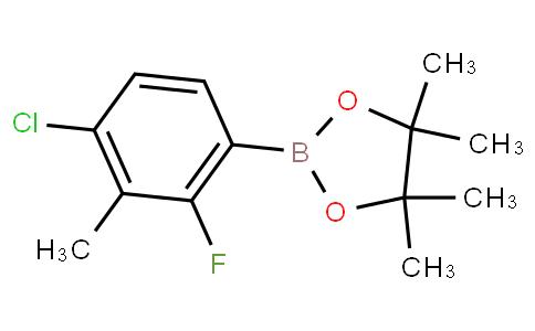 4-Chloro-2-fluoro-3-methylphenylboronic acid pinacol ester