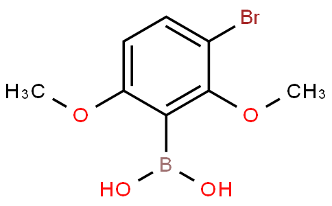 3-Bromo-2,6-dimethoxyphenylboronic acid