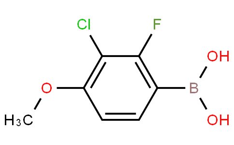 3-Chloro-2-fluoro-4-methoxyphenylboronic acid