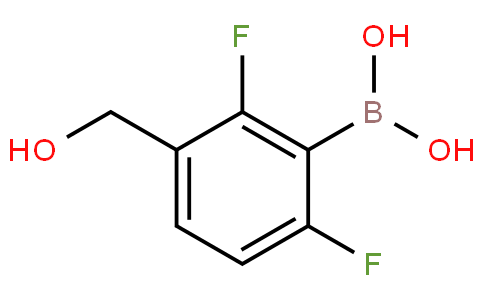 2,6-Difluoro-3-hydroxymethylphenylboronic acid