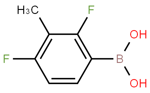 2,4-Difluoro-3-methylphenylboronic acid