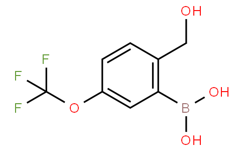 2-(Hydroxymethyl)-5-(trifluoromethoxy)phenylboronic acid