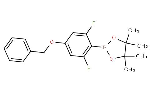 4-Benzyloxy-2,6-difluorophenylboronic acid pinacol ester