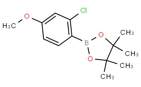 2-Chloro-4-methoxyphenylboronic acid pinacol ester