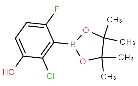 2-Chloro-6-fluoro-3-hydroxyphenylboronic acid pinacol ester