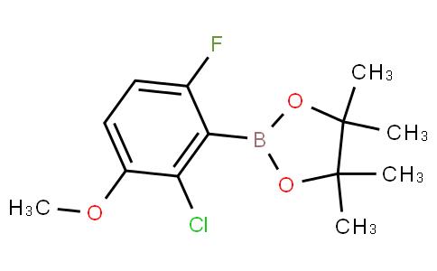 2-Chloro-6-fluoro-3-methoxyphenylboronic acid pinacol ester