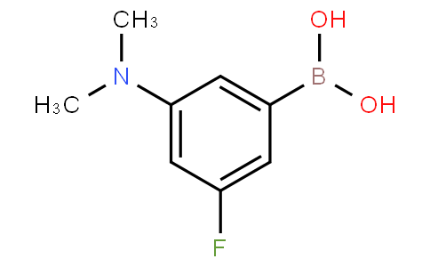 3-(N,N-Dimethylamino)-5-fluorophenylboronic acid