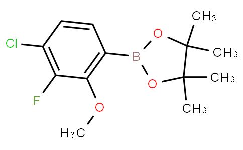 4-Chloro-3-fluoro-2-methoxyphenylboronic acid pinacol ester