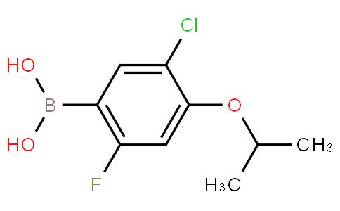 5-Chloro-2-fluoro-4-isopropoxyphenylboronic acid