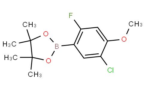 5-Chloro-2-fluoro-4-methoxyphenylboronic acid pinacol ester