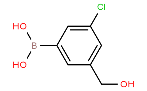 5-chloro-3-(hydroxymethyl)phenylboronic acid