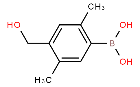 2,5-Dimethyl-4-hydroxymethylphenylboronic acid