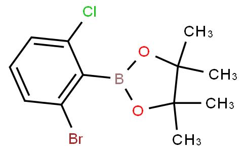 2-Bromo-6-chlorophenylboronic acid pinacol ester