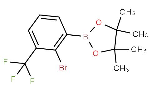 2-Bromo-3-trifluoromethylphenylboronic acid pinacol ester