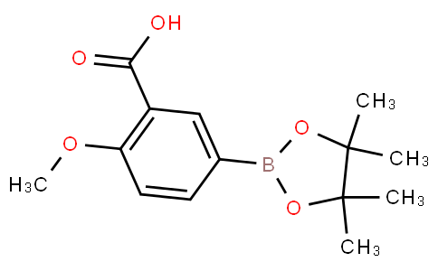 3-Carboxy-4-methoxyphenylboronic acid pinacol ester