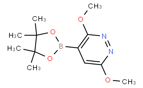 3,6-Dimethoxylpyridazine-4-boronic acid pinacol ester