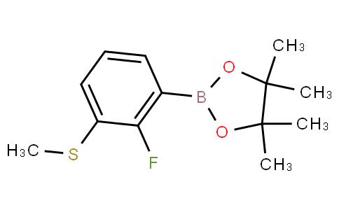 2-Fluoro-3-(methylsulfanyl)phenylboronic acid pinacol ester