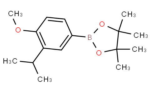 4-Methoxy-3-(1-methylethyl)phenylboronic acid pinacol ester