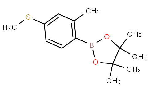 2-Methyl-4-methylthiophenylboronic acid pinacol ester