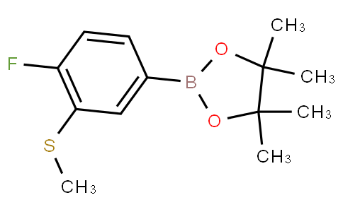 4-Fluoro-3-(methylthio)phenylboronic acid pinacol ester