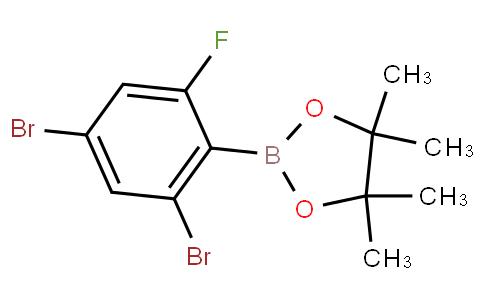 2,4-Dibromo-6-fluorophenylboronic acid pinacol ester