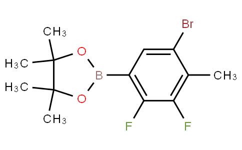 5-Bromo-2,3-difluoro-4-methylphenylboronic acid pinacol ester