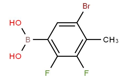 5-Bromo-2,3-difluoro-4-methylphenylboronic acid