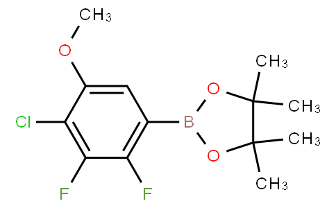 4-Chloro-2,3-difluoro-5-methoxyphenylboronic acid pinacol ester