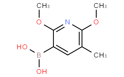 2,6-Dimethoxy-5-methylpyridine-3-boronic acid