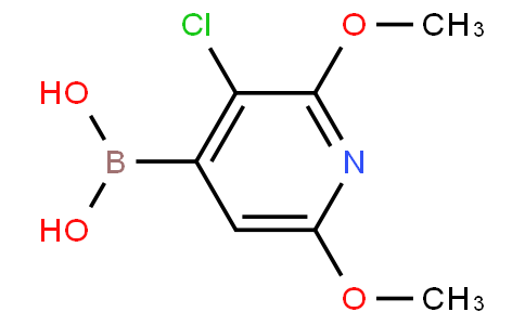 3-Chloro-2,6-dimethoxypyridin-4-ylboronic acid