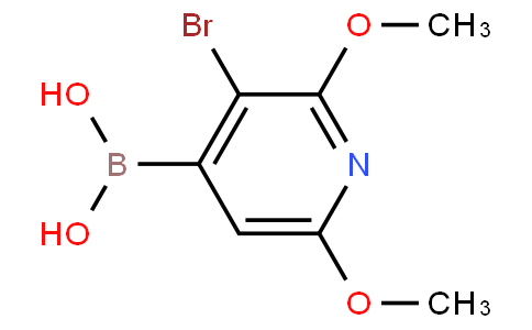 (3-Bromo-2,6-dimethoxypyridin-4-yl)boronic acid