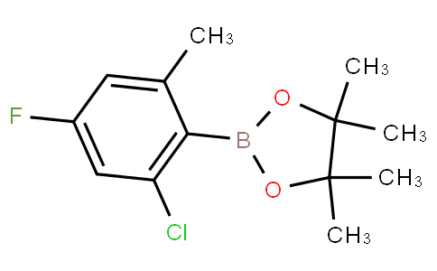 2-Chloro-4-fluoro-6-methylphenylboronic acid pinacol ester
