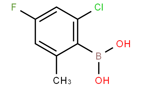 2-Chloro-4-fluoro-6-methylphenylboronic acid