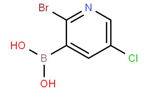 2-Bromo-5-chloropyridine-3-boronic acid