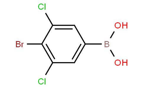 4-Bromo-3,5-dichlorophenyl boronic acid