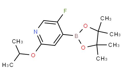 (5-Fluoro-2-isopropoxypyridin-4-yl)boronic acid pinacol ester