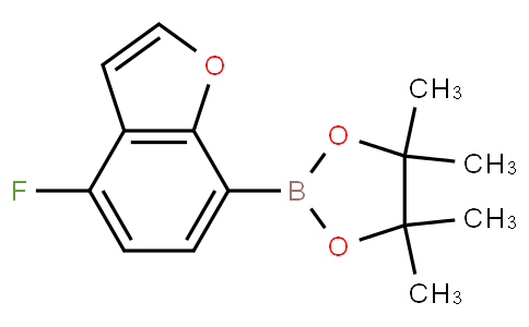 4-Fluorobenzofuran-7-boronic acid pinacol ester