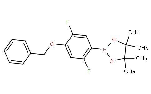 2,5-Difluoro-4-benzyloxyphenylboronic acid pinacol ester